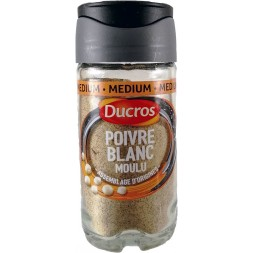 Ducros ground white pepper 1U bottle