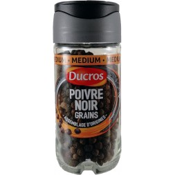 Black peppercorn Ducros 38g bottle