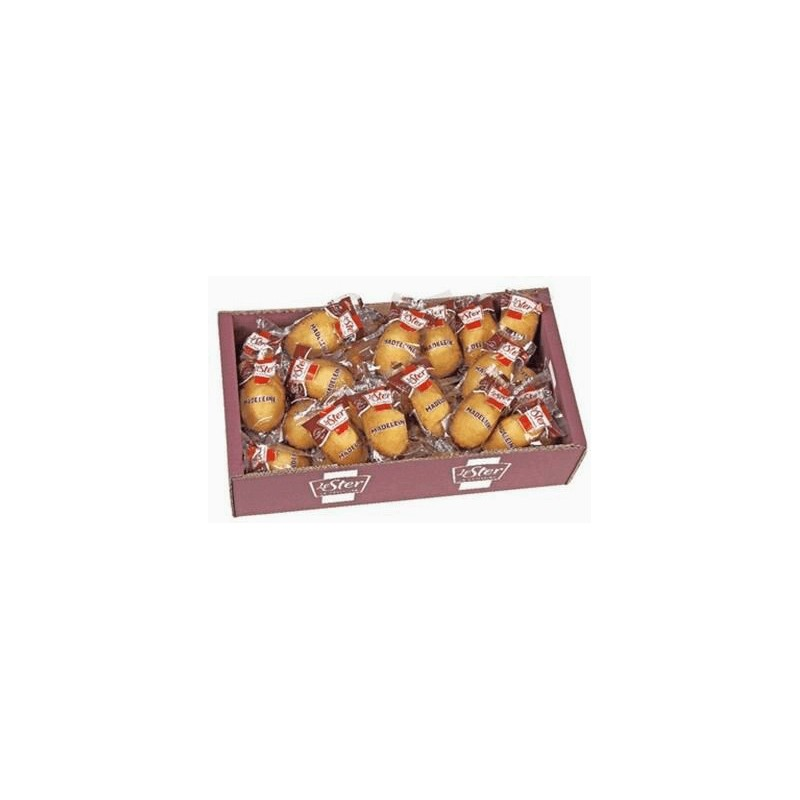 Gamme Pro: Petites Madeleines Coquilles Le Ster- plateau 44x25g