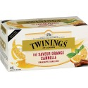 Thé Saveur Orange Cannelle Twinings - 25 sachets 50g