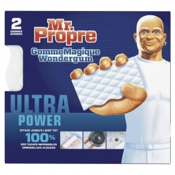 Gomme Magique Mr.Propre Ultra Power - 2 gommes