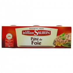 Pâté de Foie William Saurin 3x78g