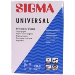 Photocopying Paper white Sigma - 500 sheets