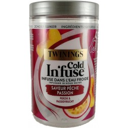 Twinings Cold Infuse Pêche Passion - 10 sachets
