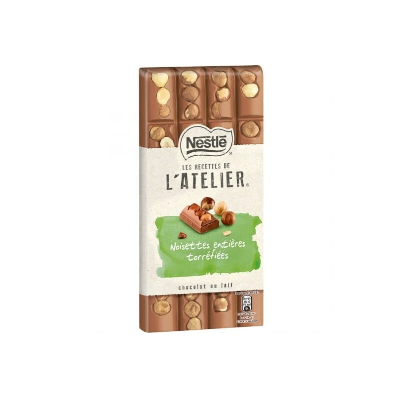 Nestlé Milk Whole Hazelnuts Atelier Recipes 195g